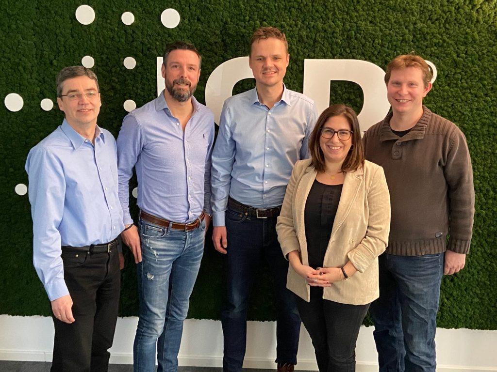 Digital Operations Kollegen und Bitkom Vertreter