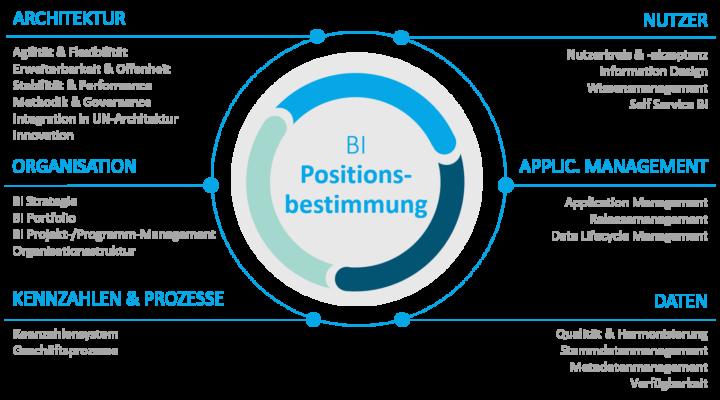 Business Intelligence Positionsbestimmung: Fokusbereiche