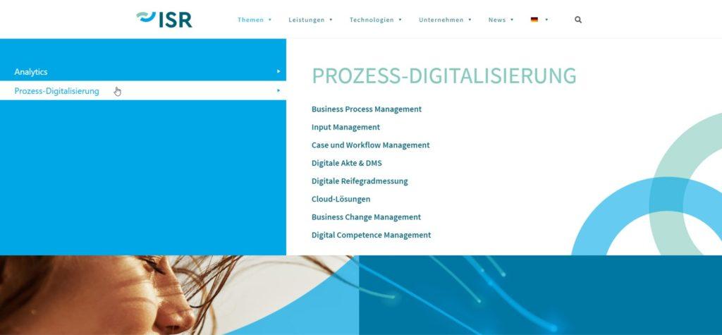 ISR wird digitaler und moderner mit der neuen Website