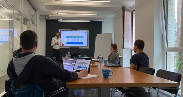 Im Rahmen der ISR-Akademie finden u.a. Weiterbildungen zum Projektmanagement statt. Hier eine Inhouse-Schulung 2021